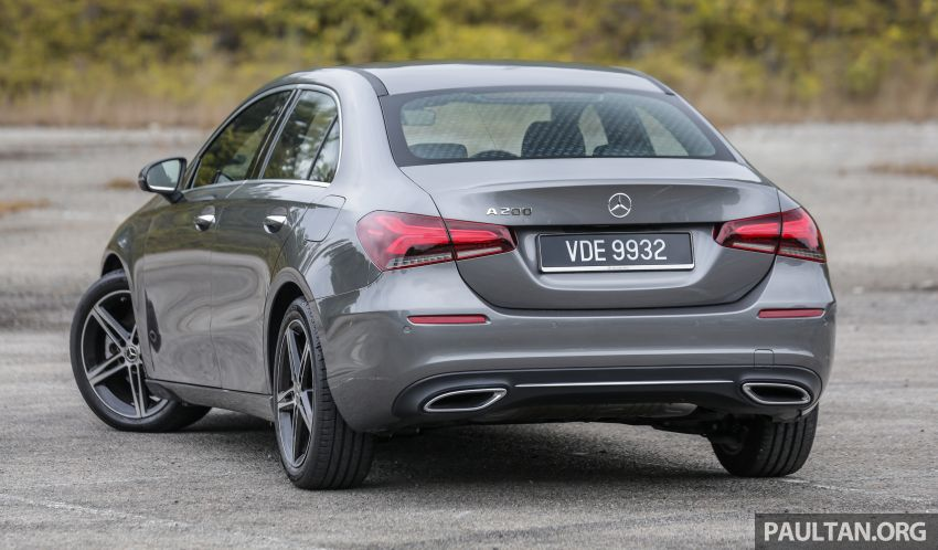 DRIVEN: V177 Mercedes-Benz A200 Sedan – whelming Image #1024664