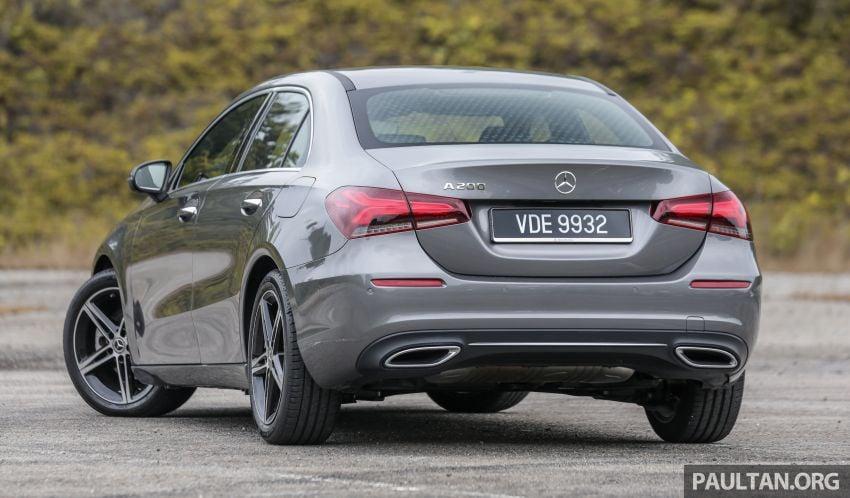DRIVEN: V177 Mercedes-Benz A200 Sedan – whelming Image #1024665