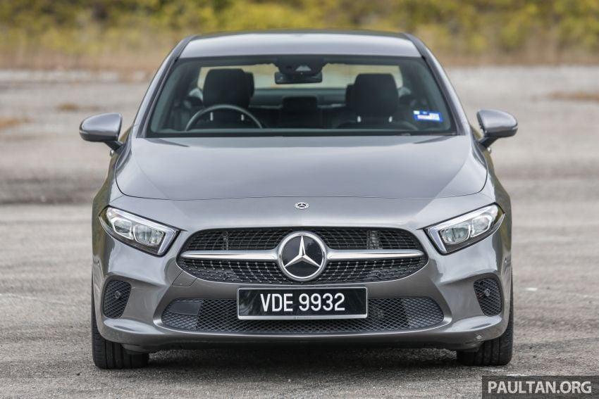 DRIVEN: V177 Mercedes-Benz A200 Sedan – whelming Image #1024666