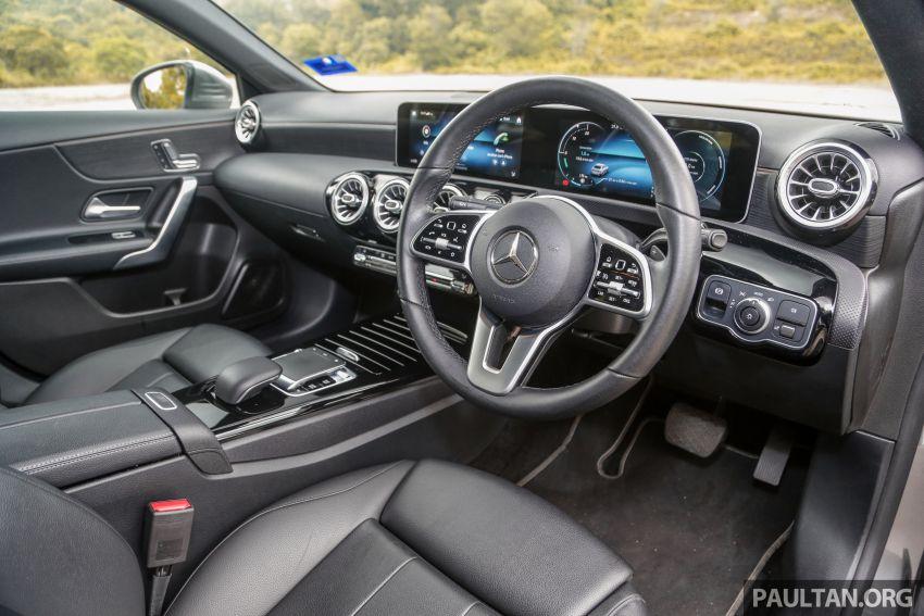 DRIVEN: V177 Mercedes-Benz A200 Sedan – whelming Image #1024696