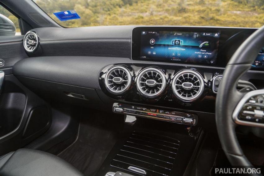 DRIVEN: V177 Mercedes-Benz A200 Sedan – whelming Image #1024719
