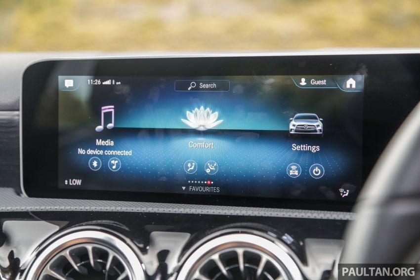 DRIVEN: V177 Mercedes-Benz A200 Sedan – whelming Image #1024724