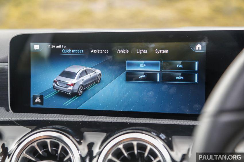 DRIVEN: V177 Mercedes-Benz A200 Sedan – whelming Image #1024728