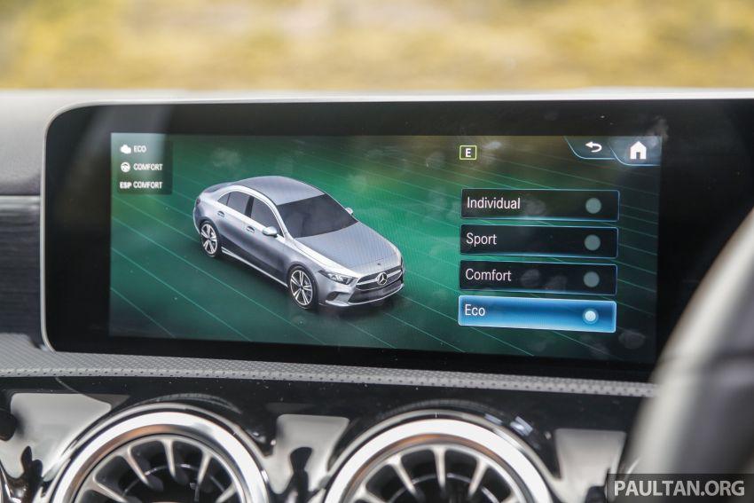 DRIVEN: V177 Mercedes-Benz A200 Sedan – whelming Image #1024732