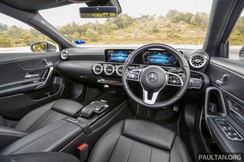 DRIVEN: V177 Mercedes-Benz A200 Sedan – whelming Image #1024747