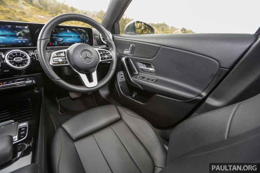 DRIVEN: V177 Mercedes-Benz A200 Sedan – whelming Image #1024748
