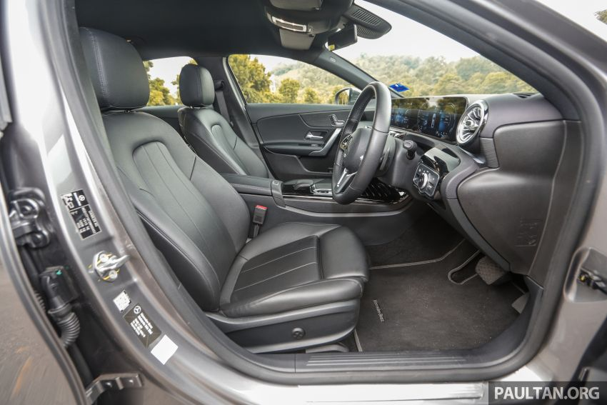 DRIVEN: V177 Mercedes-Benz A200 Sedan – whelming Image #1024753