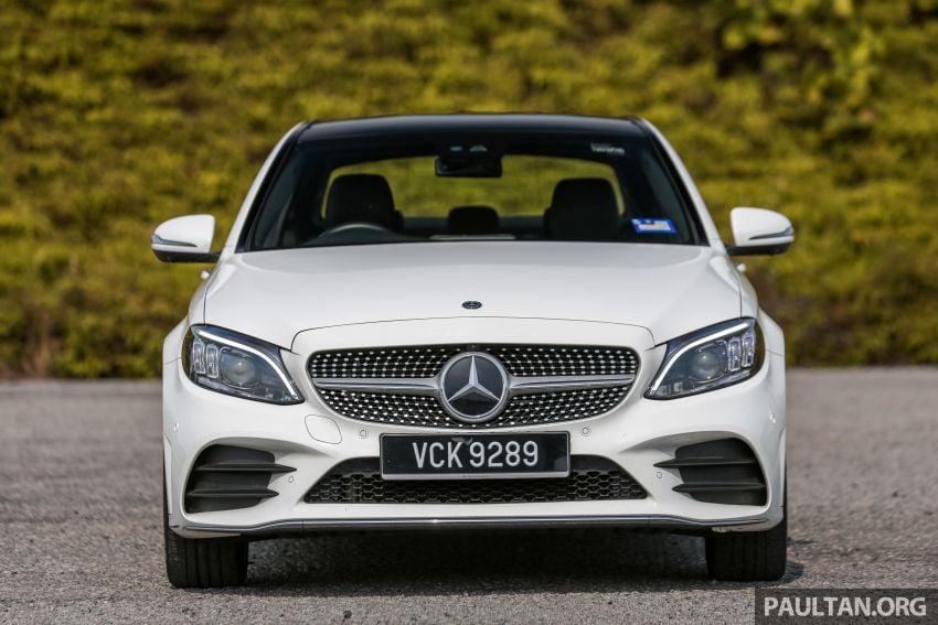 DRIVEN: W205 Mercedes-Benz C300 AMG Line facelift Image #1031283