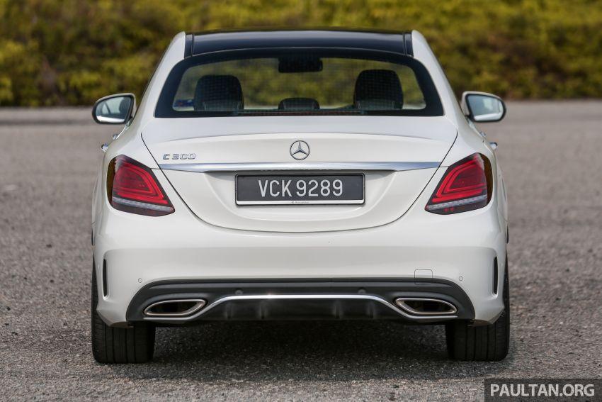 DRIVEN: W205 Mercedes-Benz C300 AMG Line facelift Image #1031284