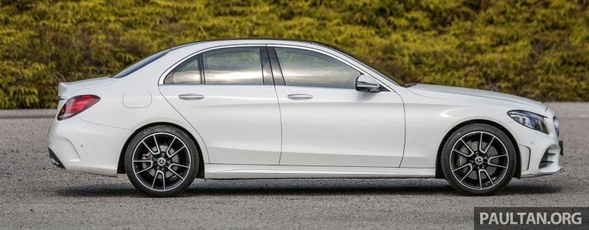DRIVEN: W205 Mercedes-Benz C300 AMG Line facelift Image #1031286