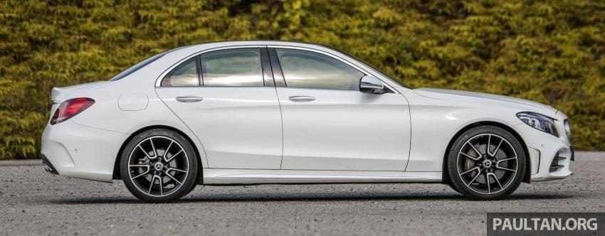 DRIVEN: W205 Mercedes-Benz C300 AMG Line facelift Image #1031287