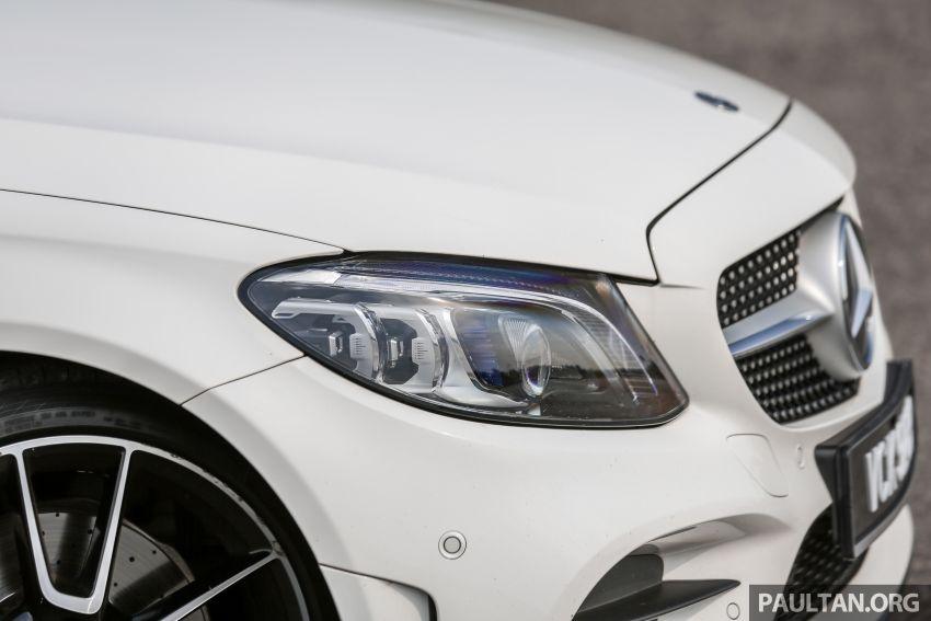 DRIVEN: W205 Mercedes-Benz C300 AMG Line facelift Image #1031290