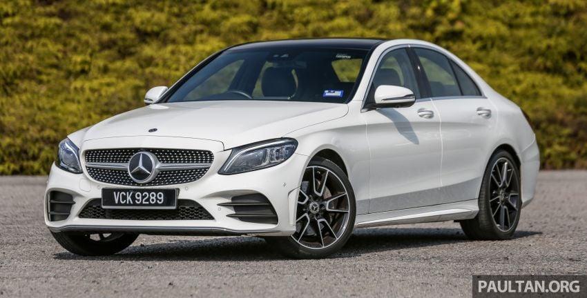DRIVEN: W205 Mercedes-Benz C300 AMG Line facelift Image #1031275
