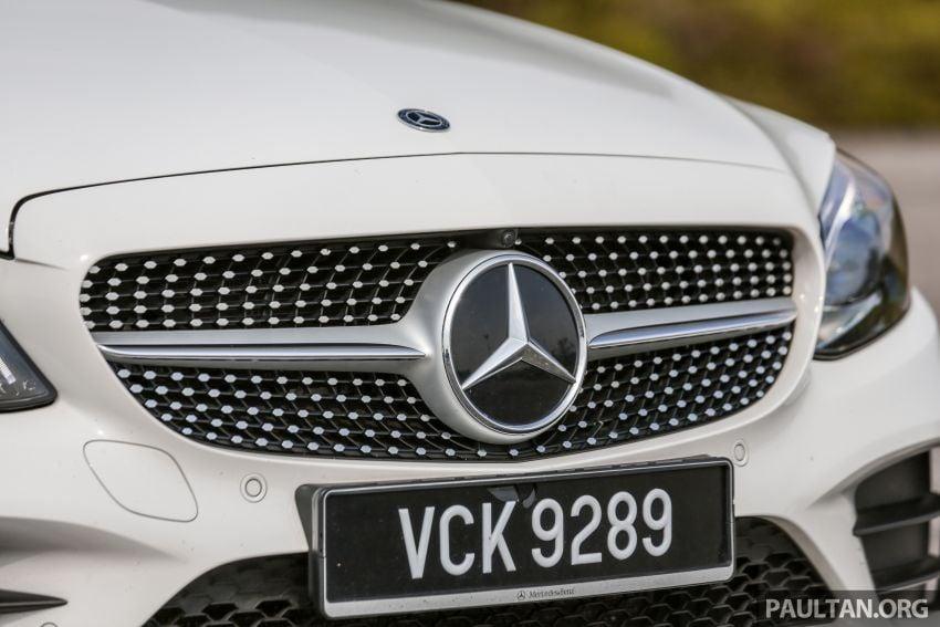 DRIVEN: W205 Mercedes-Benz C300 AMG Line facelift Image #1031293