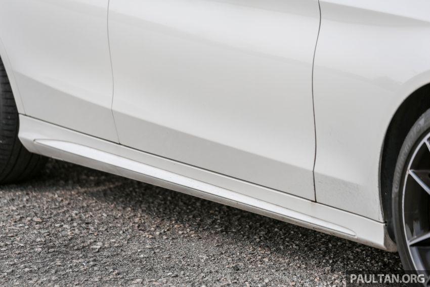 DRIVEN: W205 Mercedes-Benz C300 AMG Line facelift Image #1031300