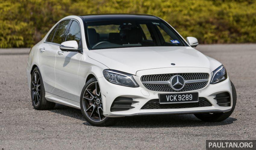 DRIVEN: W205 Mercedes-Benz C300 AMG Line facelift Image #1031276