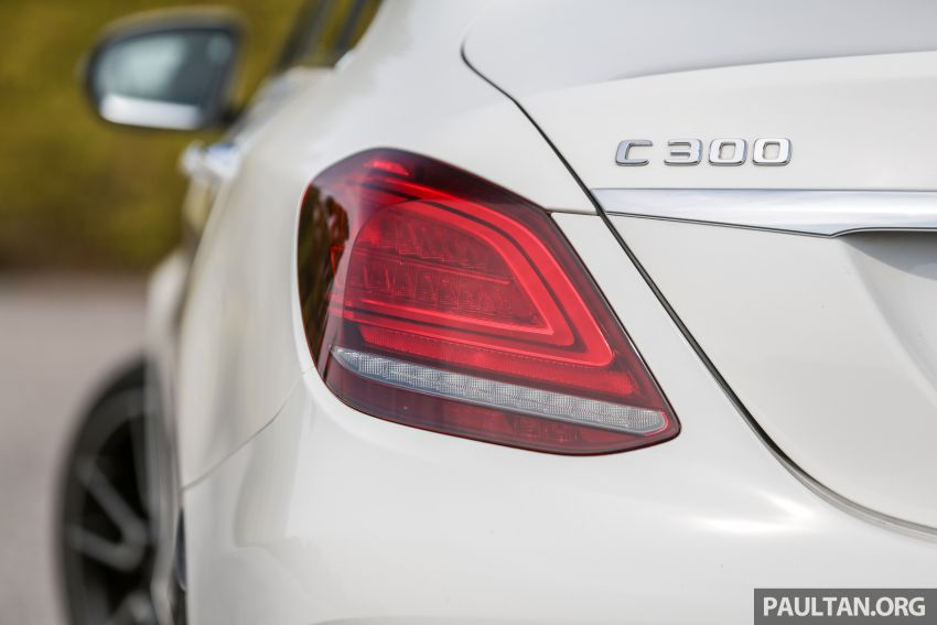 DRIVEN: W205 Mercedes-Benz C300 AMG Line facelift Image #1031303