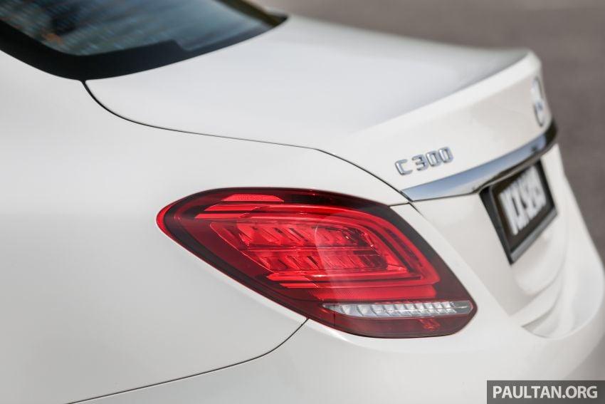 DRIVEN: W205 Mercedes-Benz C300 AMG Line facelift Image #1031304
