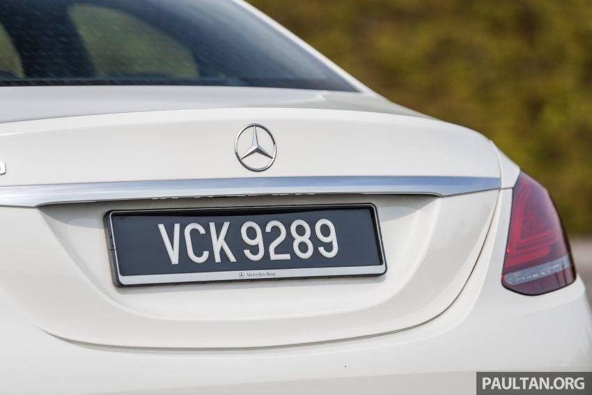 DRIVEN: W205 Mercedes-Benz C300 AMG Line facelift Image #1031306