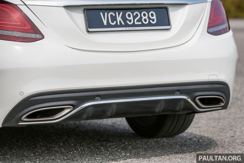 DRIVEN: W205 Mercedes-Benz C300 AMG Line facelift Image #1031307