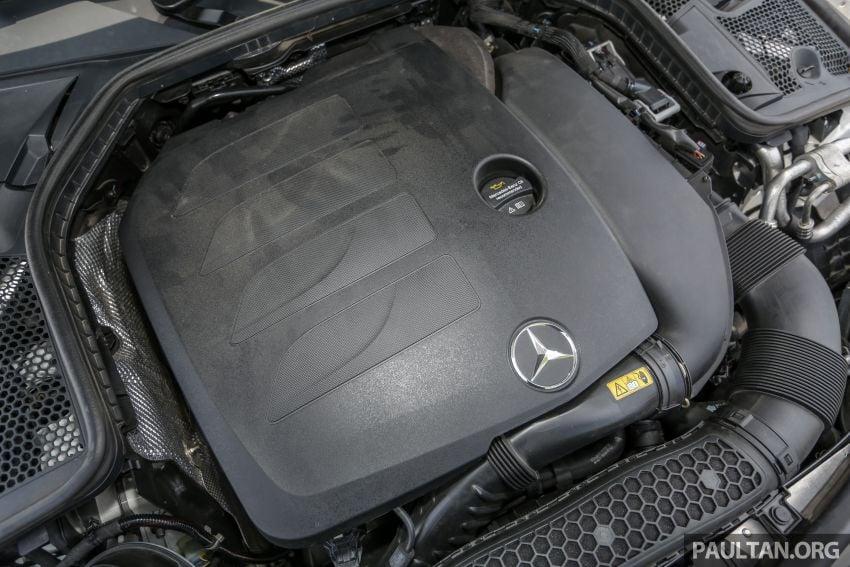 DRIVEN: W205 Mercedes-Benz C300 AMG Line facelift Image #1031309