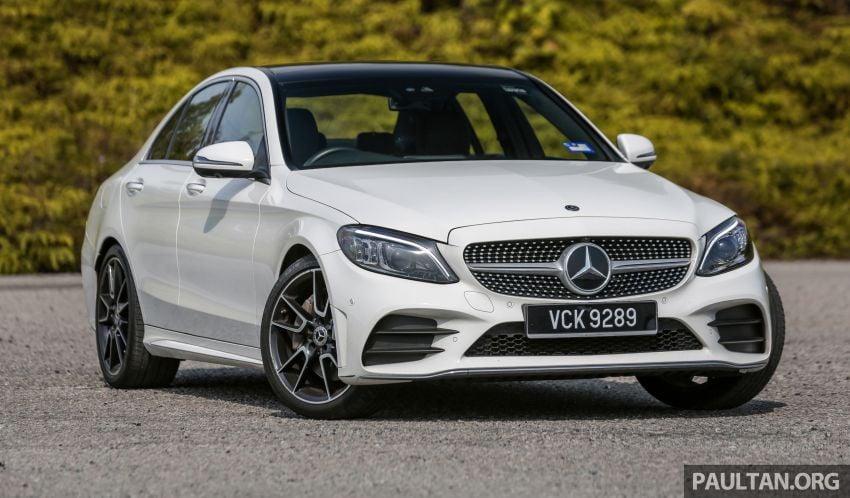 DRIVEN: W205 Mercedes-Benz C300 AMG Line facelift Image #1031277