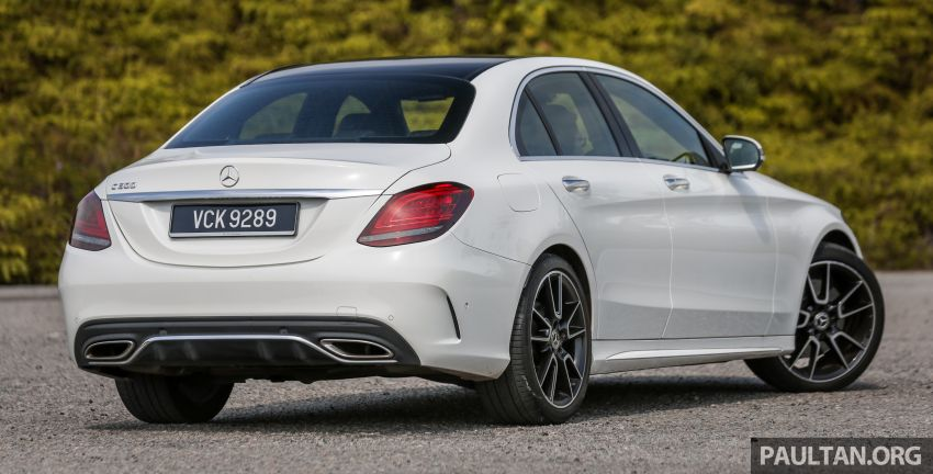 DRIVEN: W205 Mercedes-Benz C300 AMG Line facelift Image #1031279