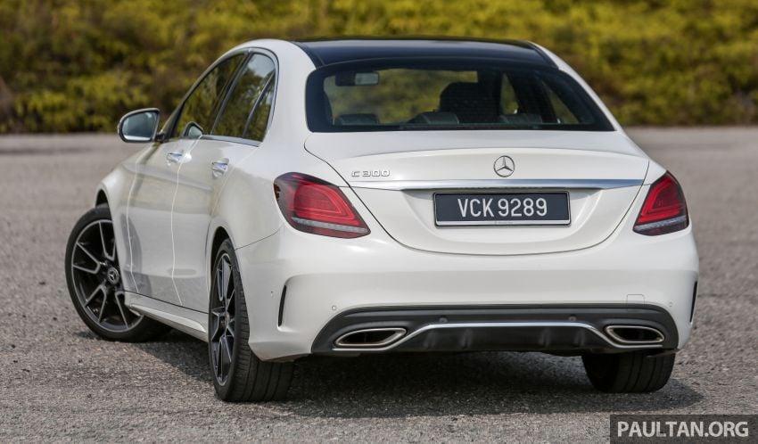 DRIVEN: W205 Mercedes-Benz C300 AMG Line facelift Image #1031280