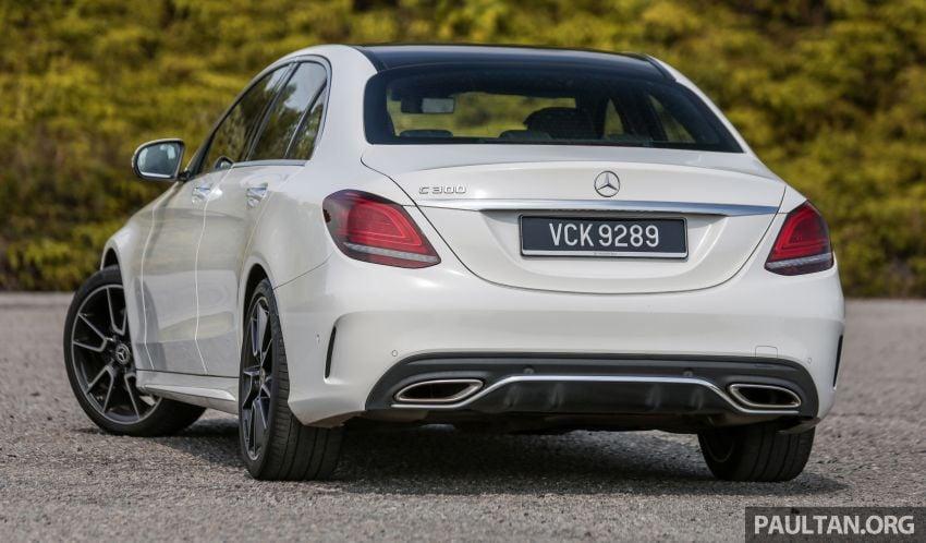DRIVEN: W205 Mercedes-Benz C300 AMG Line facelift Image #1031281