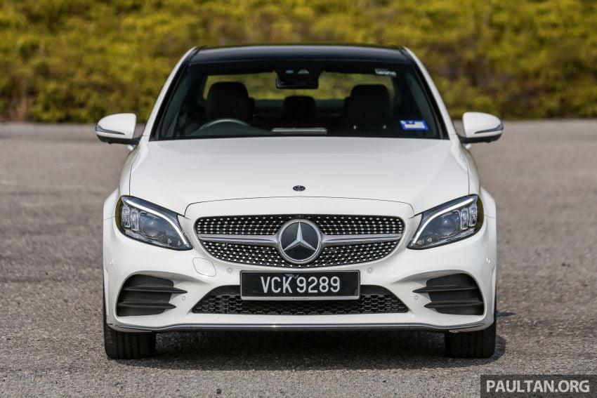 DRIVEN: W205 Mercedes-Benz C300 AMG Line facelift Image #1031282