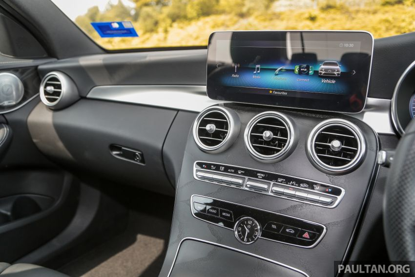 DRIVEN: W205 Mercedes-Benz C300 AMG Line facelift Image #1031323