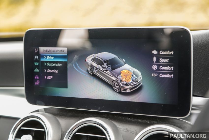 DRIVEN: W205 Mercedes-Benz C300 AMG Line facelift Image #1031324