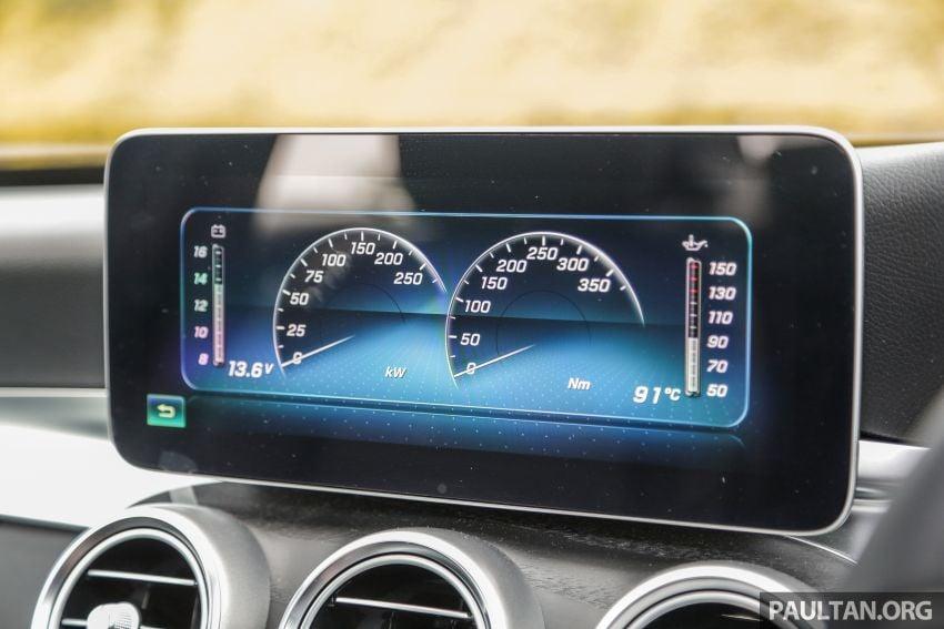 DRIVEN: W205 Mercedes-Benz C300 AMG Line facelift Image #1031325