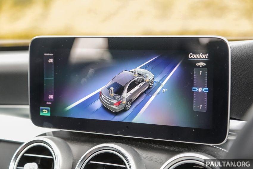 DRIVEN: W205 Mercedes-Benz C300 AMG Line facelift Image #1031326