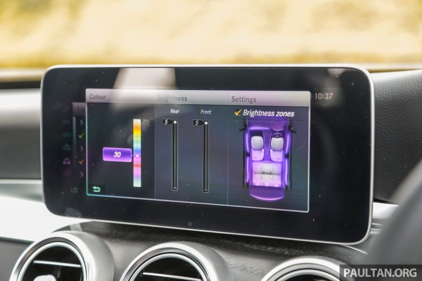 DRIVEN: W205 Mercedes-Benz C300 AMG Line facelift Image #1031327