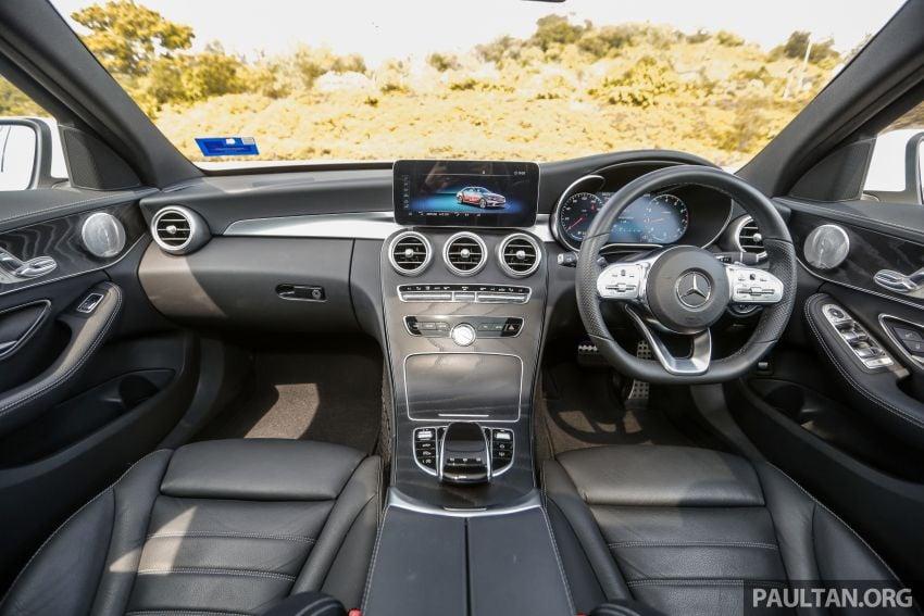 DRIVEN: W205 Mercedes-Benz C300 AMG Line facelift Image #1031311