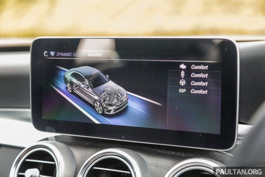 DRIVEN: W205 Mercedes-Benz C300 AMG Line facelift Image #1031331