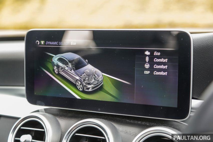 DRIVEN: W205 Mercedes-Benz C300 AMG Line facelift Image #1031332