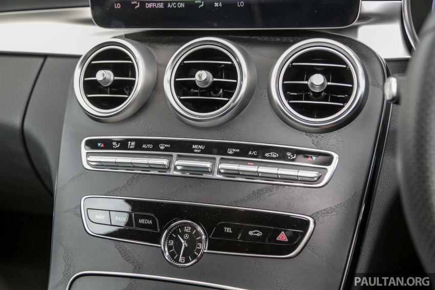 DRIVEN: W205 Mercedes-Benz C300 AMG Line facelift Image #1031333
