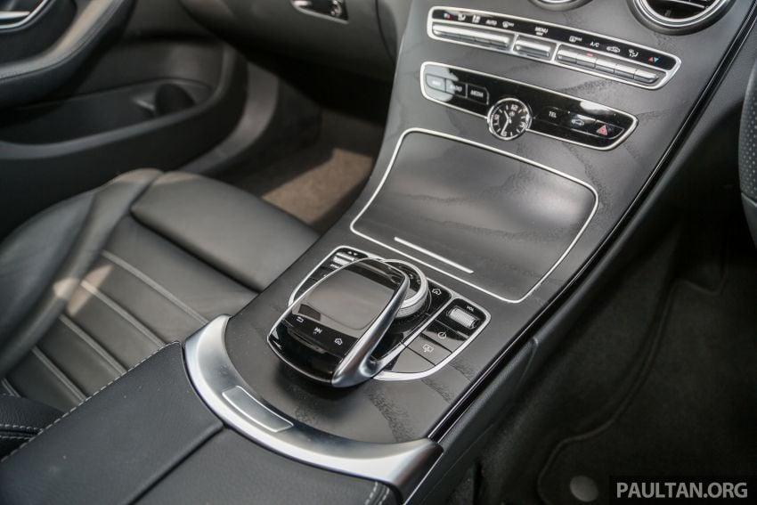 DRIVEN: W205 Mercedes-Benz C300 AMG Line facelift Image #1031334