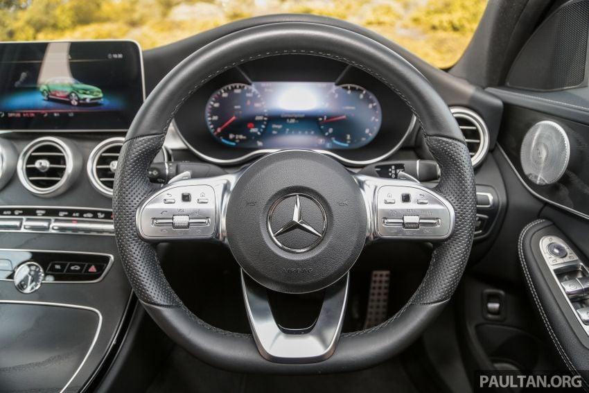 DRIVEN: W205 Mercedes-Benz C300 AMG Line facelift Image #1031312