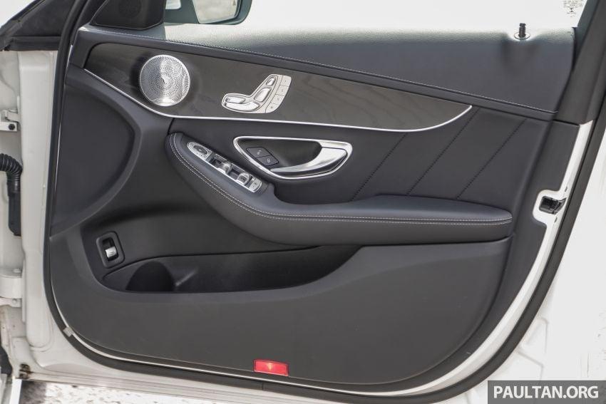 DRIVEN: W205 Mercedes-Benz C300 AMG Line facelift Image #1031340