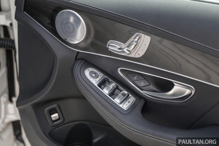 DRIVEN: W205 Mercedes-Benz C300 AMG Line facelift Image #1031341