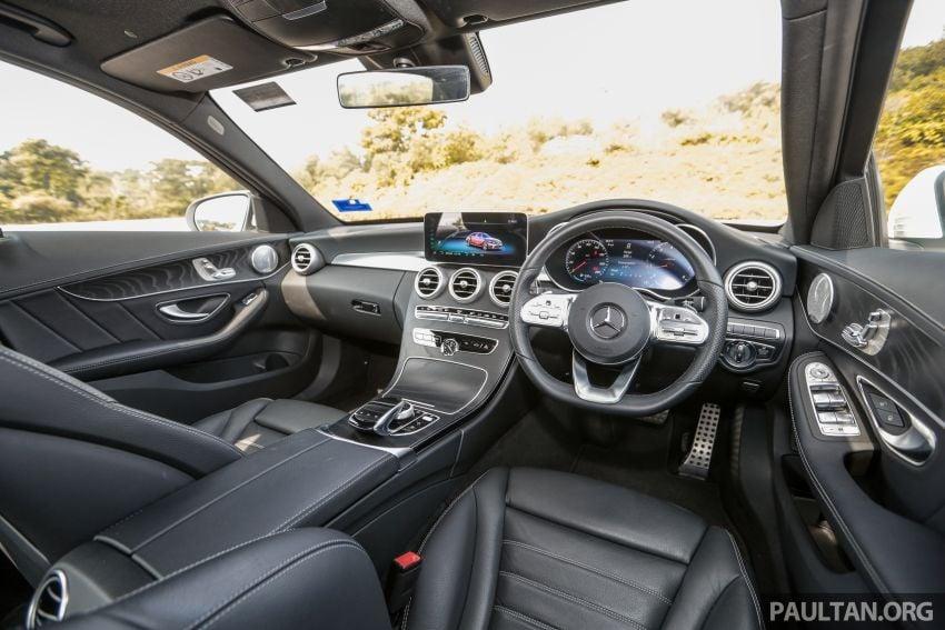 DRIVEN: W205 Mercedes-Benz C300 AMG Line facelift Image #1031343