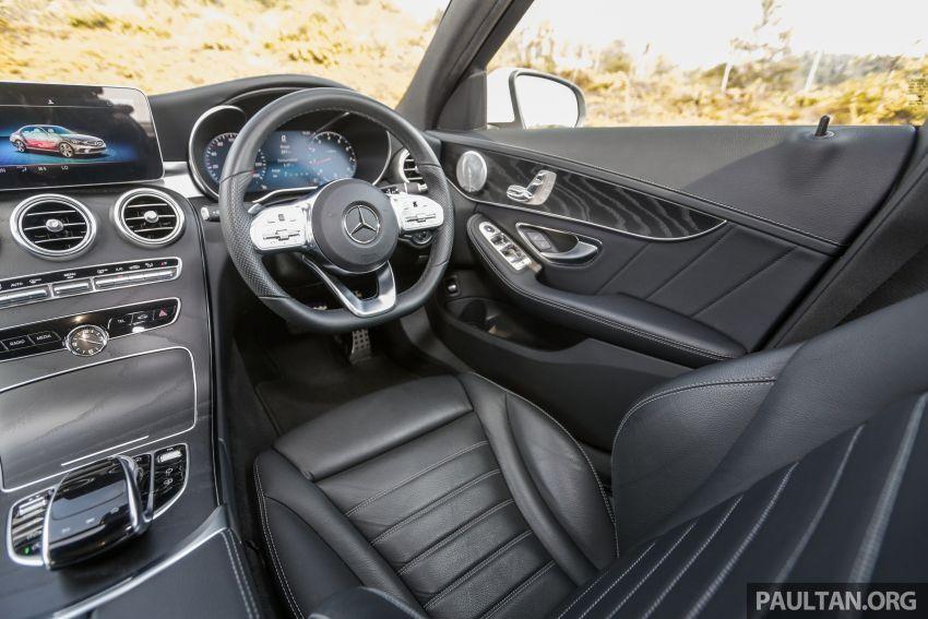 DRIVEN: W205 Mercedes-Benz C300 AMG Line facelift Image #1031344