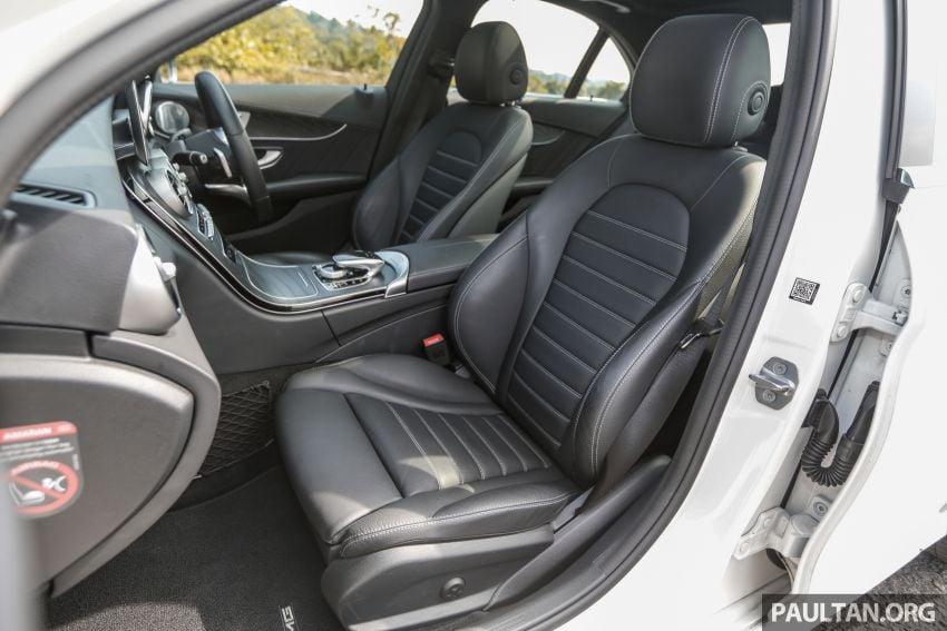 DRIVEN: W205 Mercedes-Benz C300 AMG Line facelift Image #1031348