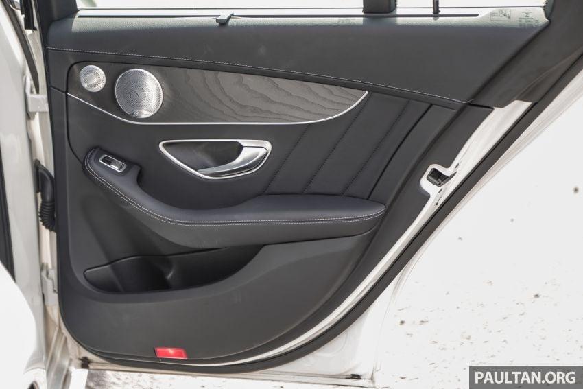 DRIVEN: W205 Mercedes-Benz C300 AMG Line facelift Image #1031352