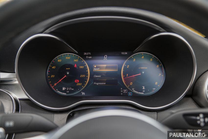 DRIVEN: W205 Mercedes-Benz C300 AMG Line facelift Image #1031314