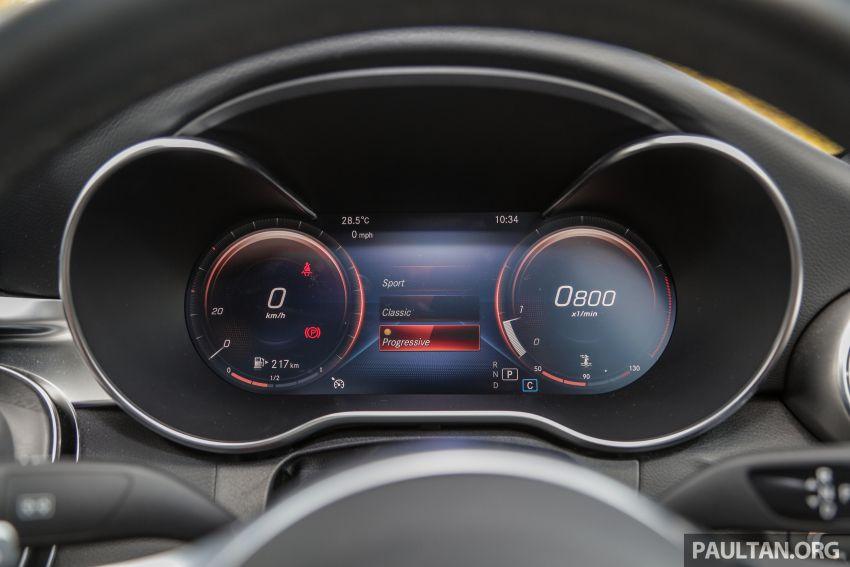 DRIVEN: W205 Mercedes-Benz C300 AMG Line facelift Image #1031316
