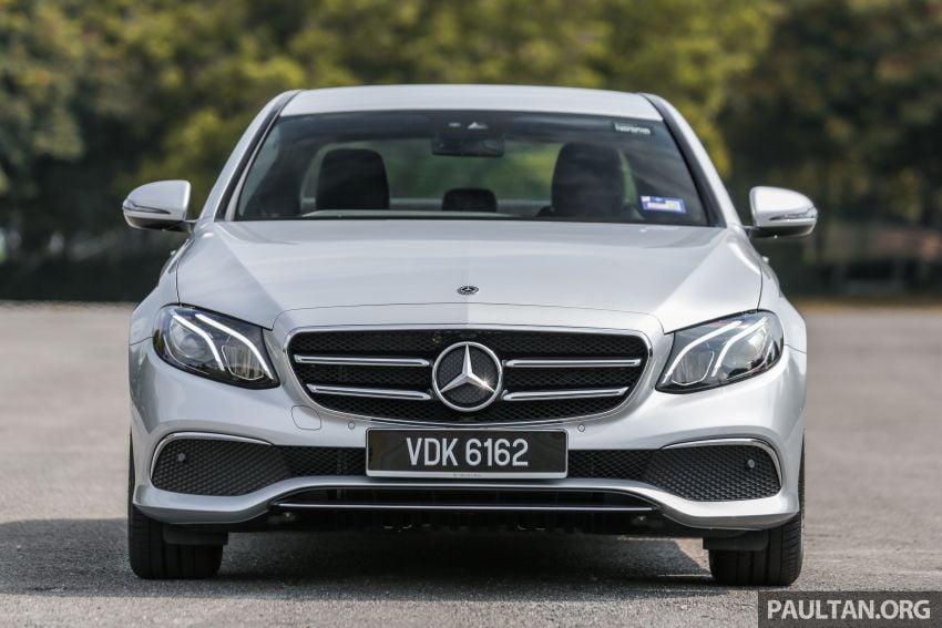 DRIVEN: W213 Mercedes-Benz E200 Sportstyle Image #1025961